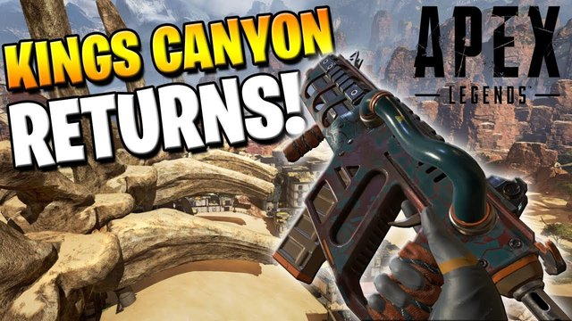 KINGS CANYON HAS RETURNED! SO DOES SKULLTOWN DROP! (Apex Legends)