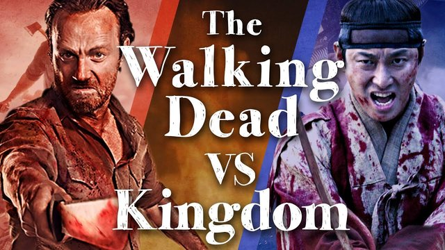 The Walking Dead VS Kingdom (Scenes of Similar and Different)