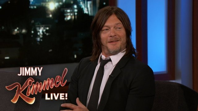 Norman Reedus on Being Naked on The Walking Dead