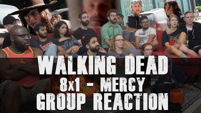 Walking Dead - Episode 100 - Mercy - Group Reaction