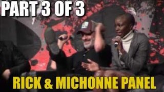 The Walking Dead Rick & Michonne Panel Part 3 of 3 Walker Stalker Atlanta 2017