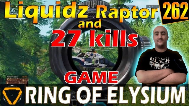 Liquidz & Raptor | 27 kills | ROE (Ring of Elysium) | G262