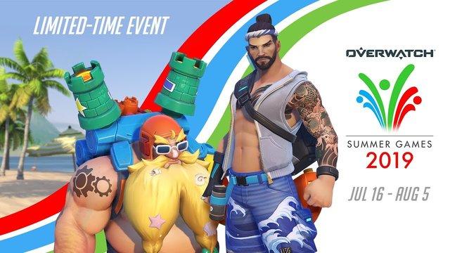 Overwatch Seasonal Event   Summer Games 2019 (EU)