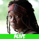 michonne - The Walking Dead Characters