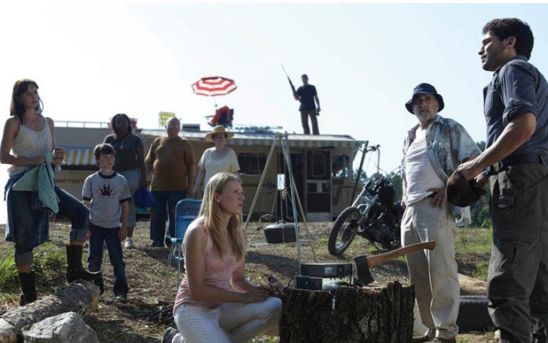 "the walking dead behind the scenes 790x494 - Inside The Walking Dead - Season premiere ""Days Gone Bye"""