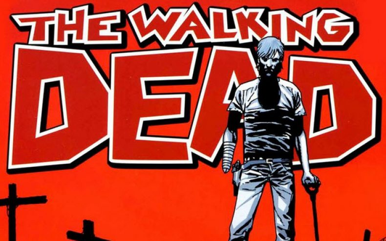 The comic book that started The Walking Dead TV show.