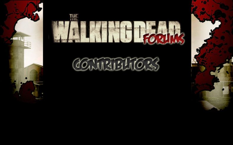 the walking dead contributors 790x494 - The Walking Dead Forums News Contributors