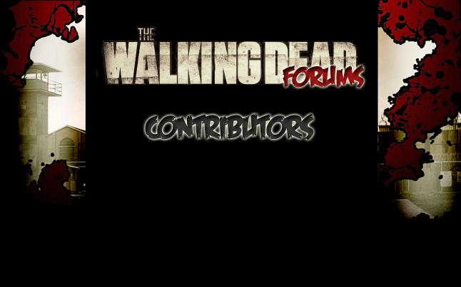 the walking dead contributors - The Walking Dead Forums News Contributors
