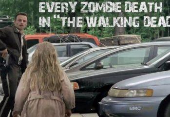 Every Zombie Death in The Walking Dead