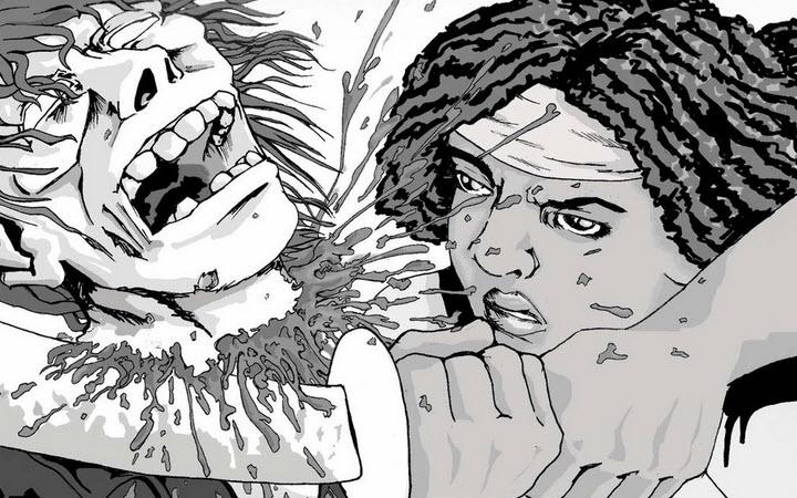 michonne the walking dead - The Walking Dead Season 2 Includes Michonne