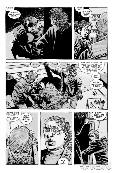 the walking dead comic 84 page 1 - The Walking Dead Comic #84 Preview