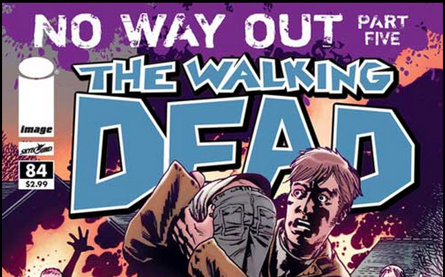 the walking dead comic 84 - The Walking Dead Comic #84 Preview
