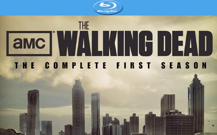 The Walking Dead Season 1 DVD