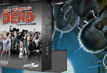 the walking dead board game 349x240 - The Walking Dead Board Game Coming Soon