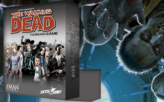 the walking dead board game - The Walking Dead Board Game Coming Soon