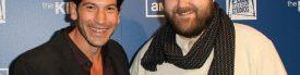 Jon Bernthal and Robert Kirkman