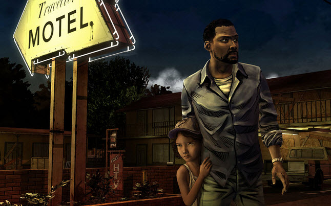 the walking dead video game - The Walking Dead Video Game Screenshot