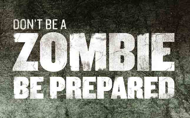 cdc zombie poster - CDC Offers Free Zombie Apocalypse Posters