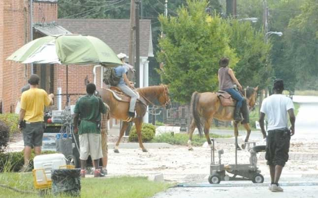 The Walking Dead Filming in Sharpsburg