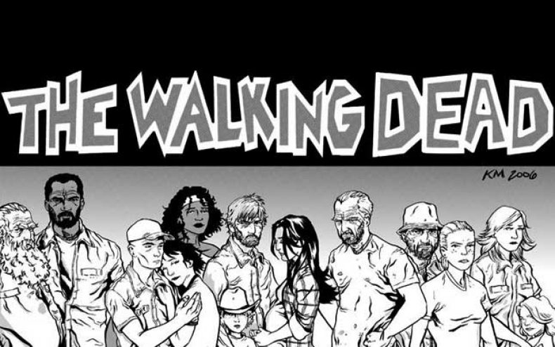walking dead comic cast 790x494 - Scenes You Will Never See On The Walking Dead TV Series
