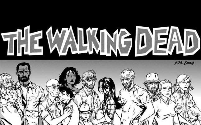 The Walking Dead Comic Cast