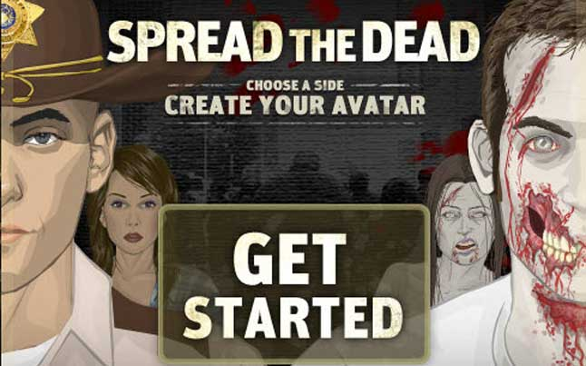 the walking dead facebook app - Create Your Own Walking Dead Avatar Using Facebook
