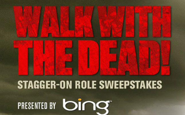 walking dead sweepstakes - Bing Presents The Walking Dead Sweepstakes