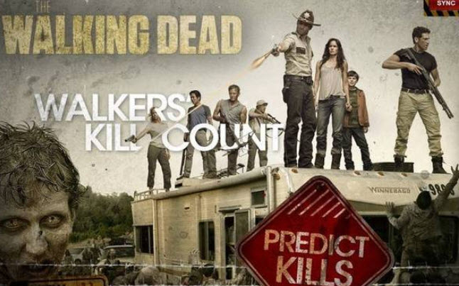 the walking dead phone app - The Walking Dead Launching Kill Predictor Phone App