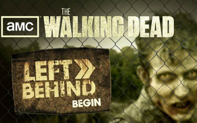 The Walking Dead Facebook App