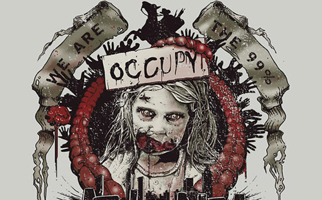 the walking dead tee shirt - The Walking Dead Occupy Atlanta