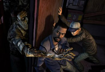 the walking dead video game 349x240 - Behind the scenes: The Walking Dead Video Game