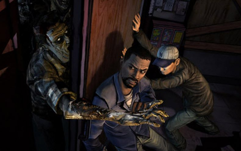 the walking dead video game 790x494 - Behind the scenes: The Walking Dead Video Game