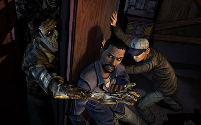 the walking dead video game - Behind the scenes: The Walking Dead Video Game