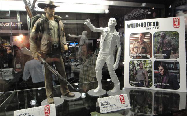 the walking dead figures - Second Set Of The Walking Dead Figures Coming Soon