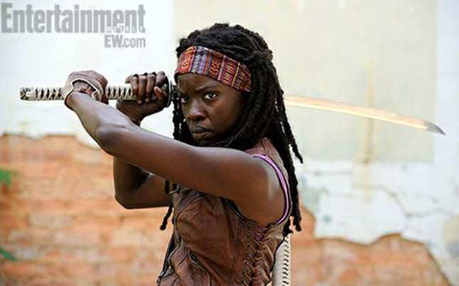 michonne - Michonne Unhooded and Season 3 Behind The Scenes!