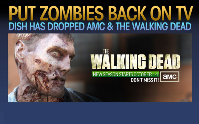 put zombies back - AMC Invades NYC Streets To Fight Dish Network