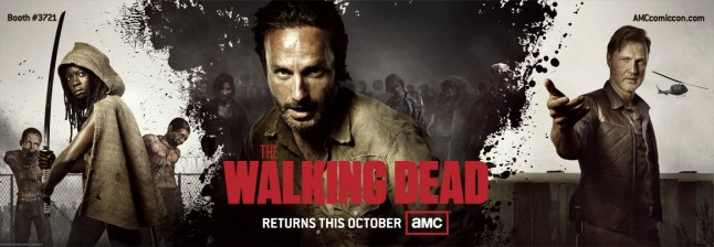 walking dead comic con banner full e1341678631464 - The Walking Dead at the San Diego Comic-Con on July 13th