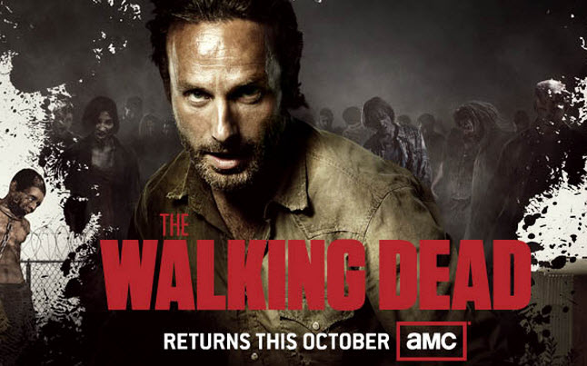 walking dead comic con banner - The Walking Dead at the San Diego Comic-Con on July 13th