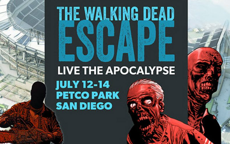 The Walking Dead invades San Diego