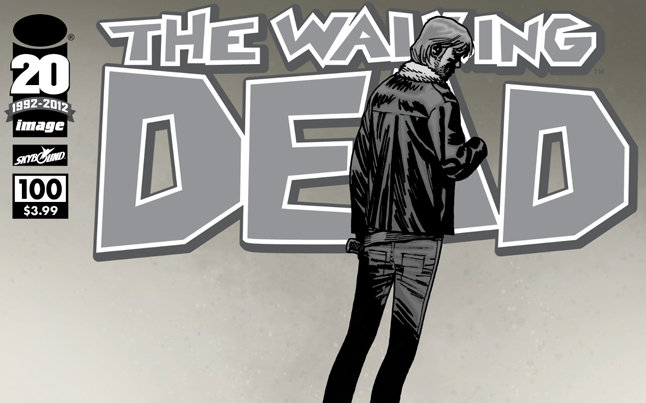 #100 Issue of The Walking Dead Comic