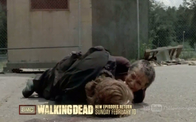 The Walking Dead promo with Carol