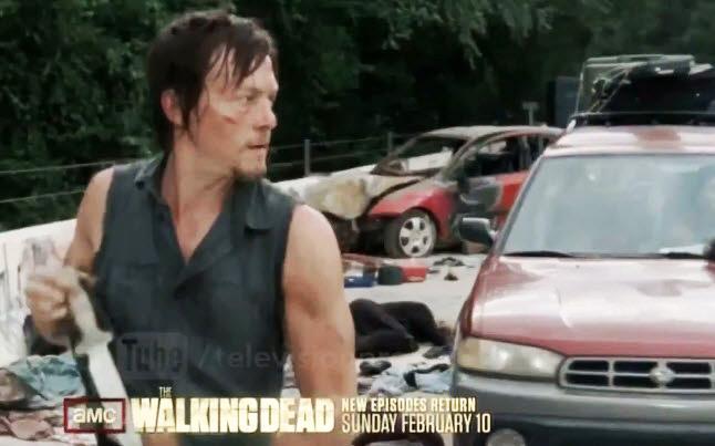 daryl walking dead promo - New Walking Dead Promo - Well 5 Seconds At Least