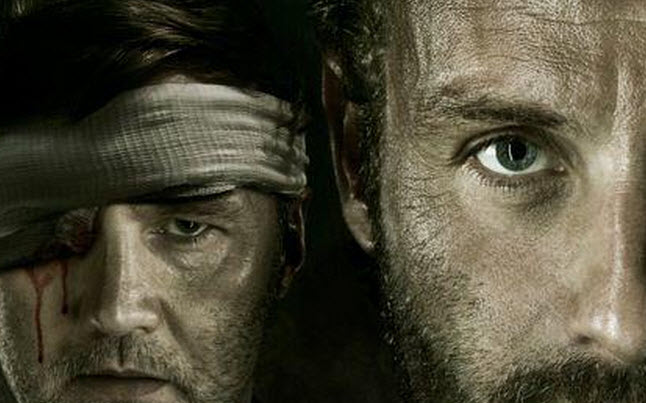 eye for an eye poster - Walking Dead Season 3 Poster Featuring Rick And The Governor