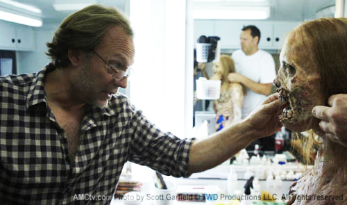 Greg Nicotero Makeup