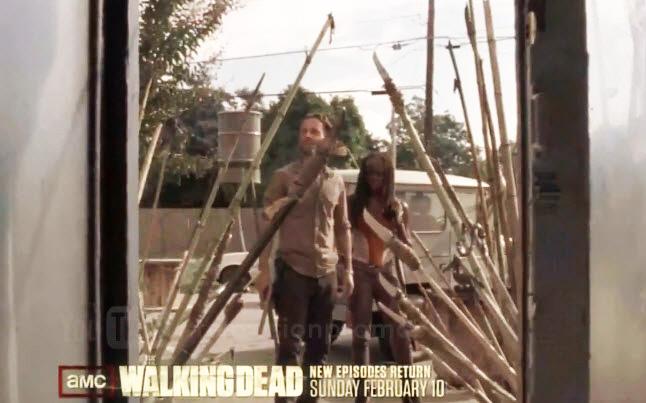 rick michonne season 3 promo - New Walking Dead Promo - Well 5 Seconds At Least