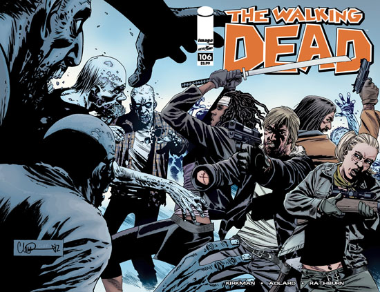 walking dead 106 cover wrap - Walking Dead #106 Comic Preview Featuring A Special Cover Variant