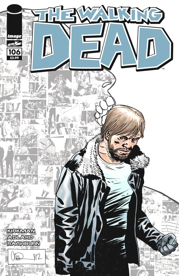 The Cover for #106 of The Walking Dead
