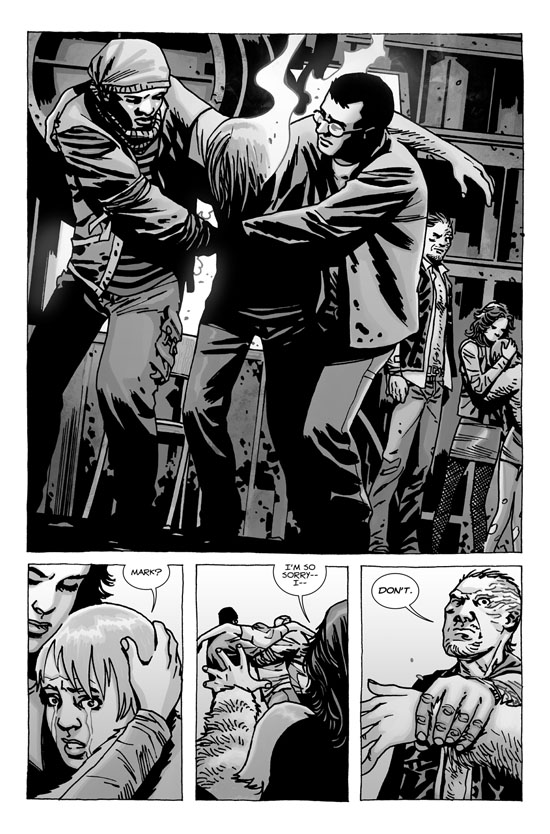 walking dead 106 page1 - Walking Dead #106 Comic Preview Featuring A Special Cover Variant