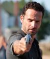 walking dead rick grimes gun - The Walking Dead's Opinion on Gun Control