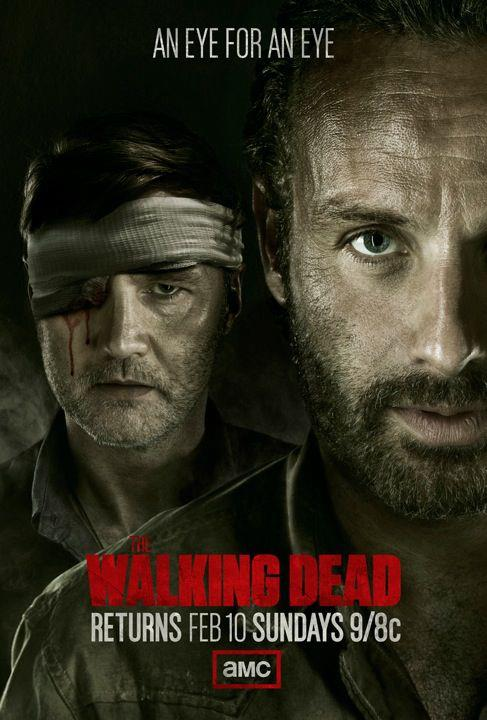 walking dead season 3 poster - Walking Dead Season 3 Poster Featuring Rick And The Governor